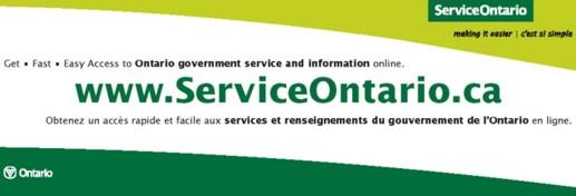 ServiceOntario company